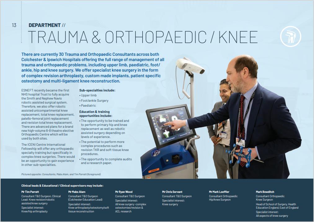 Knee & Hip Fellowship