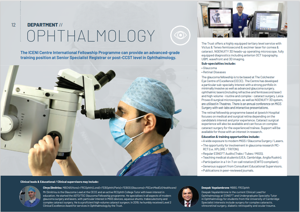 Ophthalmology Fellowships